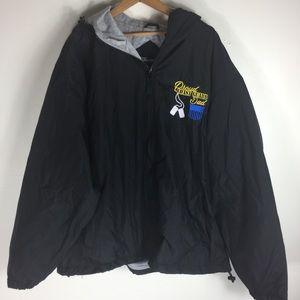 Port Authority Black 2xL Waterproof Utility Jacket